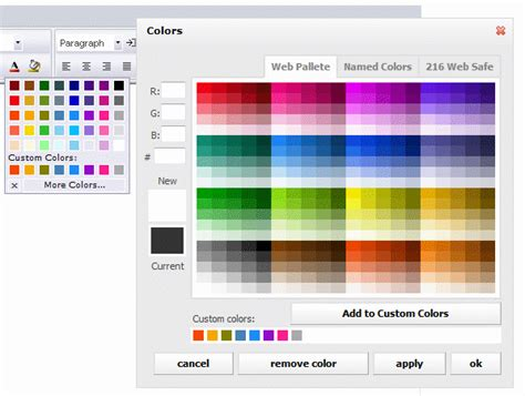 html color picker hex rgb color picker download