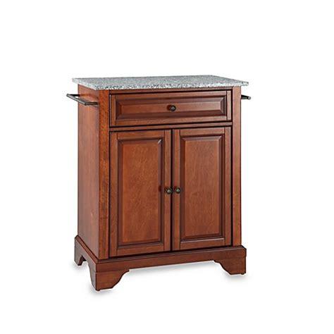 crosley lafayette kitchen island with granite top crosley lafayette solid granite top portable kitchen