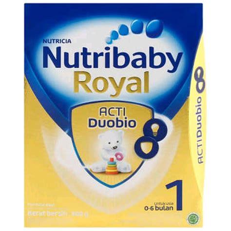 Nutribaby Tahap 2 400 Gr harga ulasan nutribaby royal tahap 1 kaleng 800 gr mymom