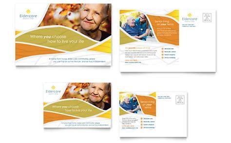 Assisted Living Brochure Template Design Living Flyer Template