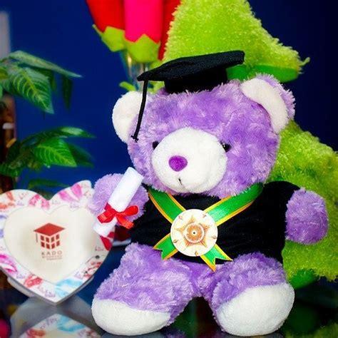 Boneka Teddy Ungu Uk80cm Sni boneka wisuda ungu ugm kado wisudaku