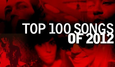 Top 100 Bar Songs top 100 songs of 2012 www jaredmobarak