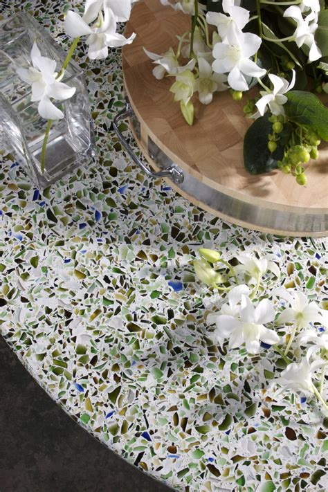 Countertop Recycled Glass by 17 Best Images About Vetrazzo Recycled Glass Countertops On Countertops Green