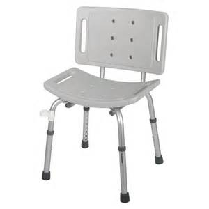 guardian easy care shower chair gray 1 each g30402h
