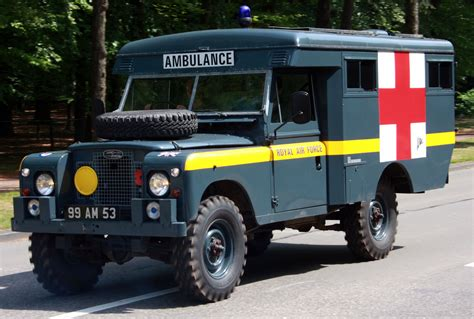 land rover raf land rover ambulance raf rn vehicles