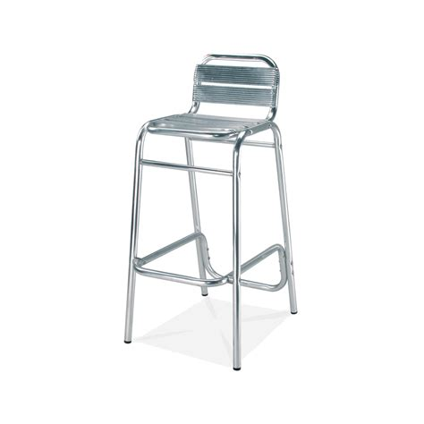 Outdoor Aluminum Bar Stools | bahamas outdoor aluminum bar stool bar restaurant furniture tables chairs and bar stools