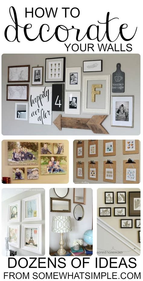 how to arrange pictures on a wall without frames best 25 wall decorations ideas on pinterest living room