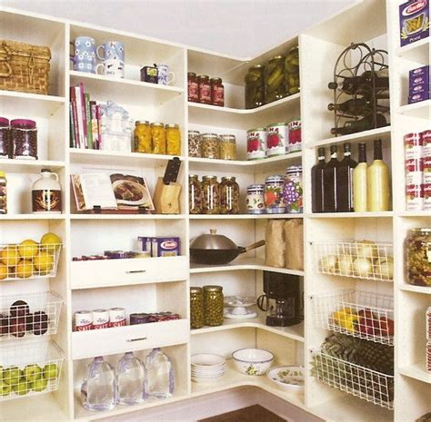 Open Shelf Pantry by Whitehaven Pantry Redo And Inspiration