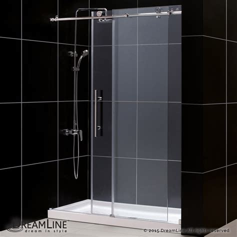 Dreamline Frameless Sliding Shower Door Dreamline Showers Enigma X Sliding Shower Door