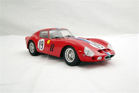 farary cars 250 gto 24 hours of le mans 1962 scale model cars