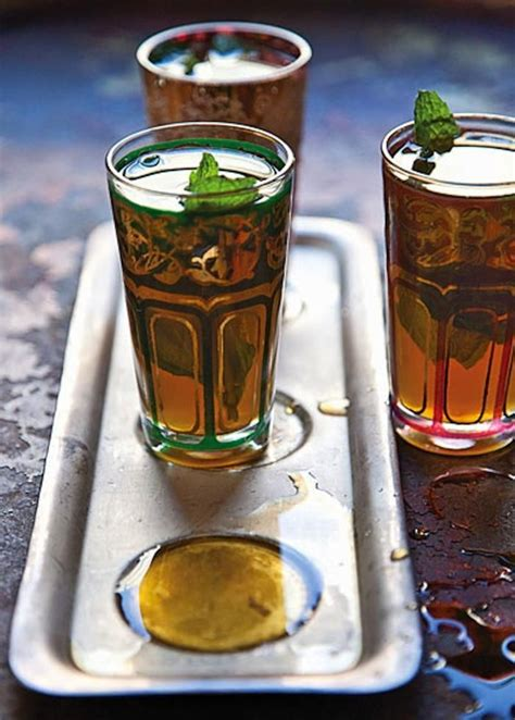 moroccan mint tea drinks pinterest