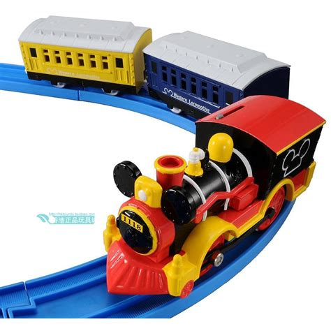 Tomica Disney Mickey Gold tomica tomy disney mickey mouse railway battery motorized ebay