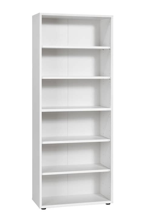 Large White Bookcase Maja White Large Bookcase