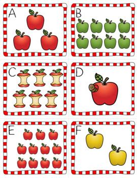 counting all the apples in the room count the room apples by pocketful of centers tpt