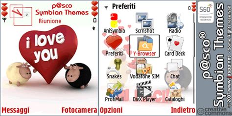 love themes symbian sheeps love theme symbian 3rd by bsign on deviantart