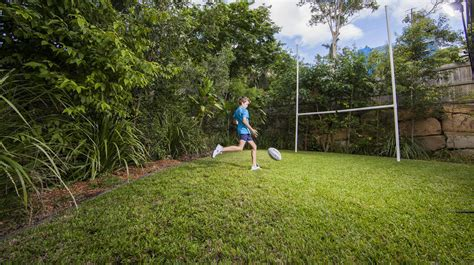 Backyard Afl Backyard Footy Posts In Ashgrove Brisbane Qld Sports