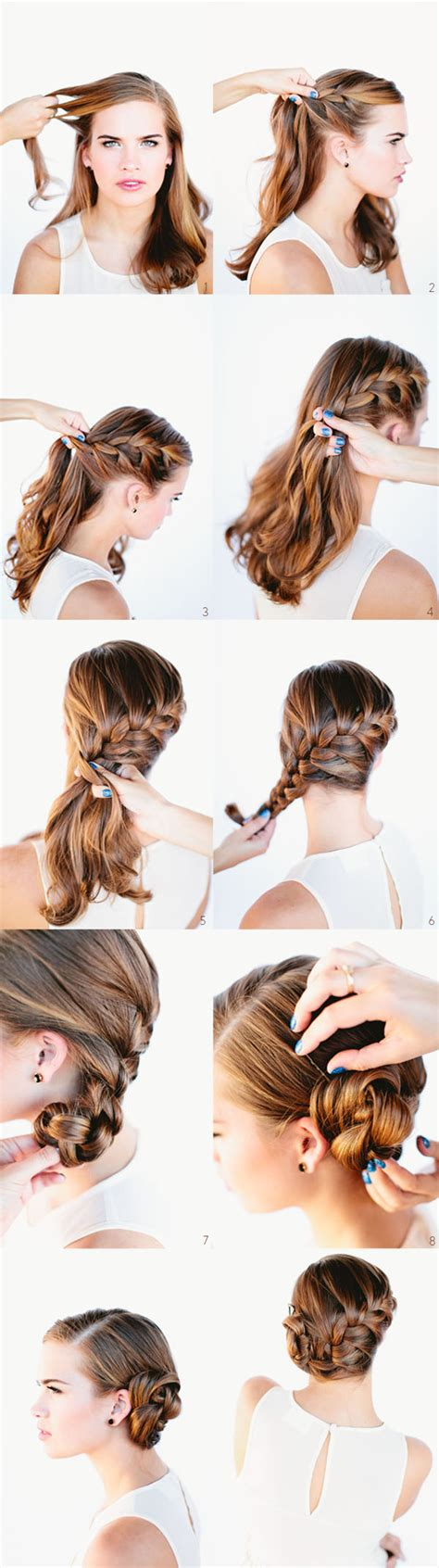 diy hairstyles com 101 easy diy hairstyles for medium and long hair to snatch
