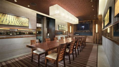 restaurants with private dining rooms private dining room and bottle lounge press club sf