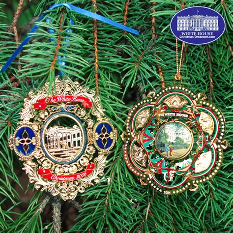 2006 white house ornament gift set