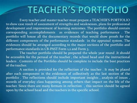educational portfolio template s portfolio