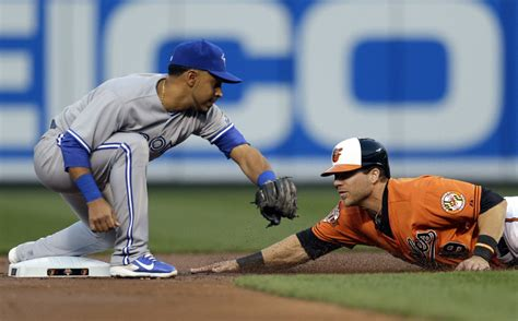 Eastern Reporter Second Series Bluebook by Blue Jays Maicer Izturis Injured And Likely Out For Season Toronto