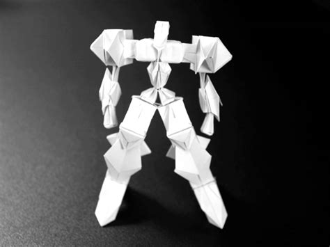 membuat origami robot transformer origami robot 4 youtube