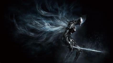 wallpaper black knight dark souls iii games