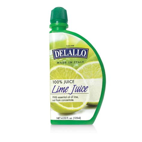 Lime Cheese Slice delallo lime juice slice