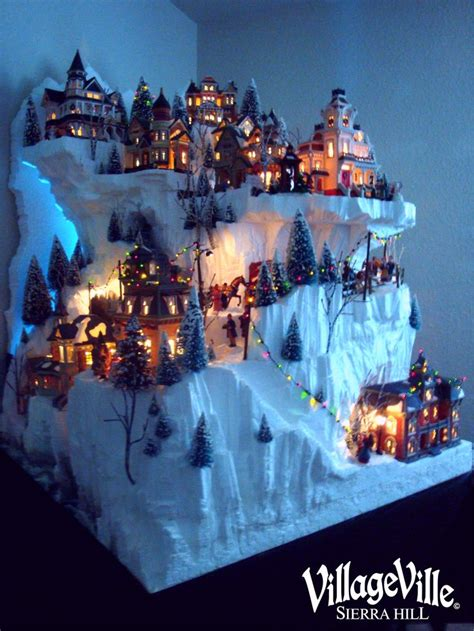 17 best ideas about christmas villages on pinterest