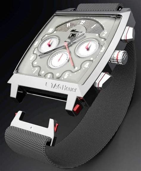 Tag Heuer Monaco V4 Leather Silver best 25 tag heuer monaco ideas on tag heuer