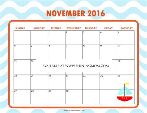 november 2016 my free tanzania free printable calendar for november 2016