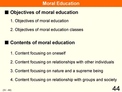 thesis moral education importance of moral values in education essay
