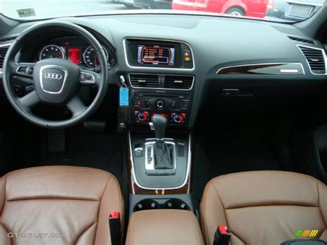 Audi Q5 Brown Interior by Cinnamon Brown Interior 2010 Audi Q5 3 2 Quattro Photo
