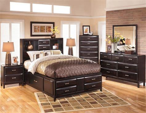 kira storage platform bedroom set  ashley     coleman furniture