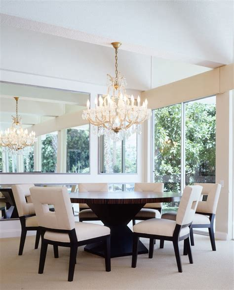 Transitional Chandeliers For Dining Room Dining Tables For Room Transitional With Light Table Chandeliers