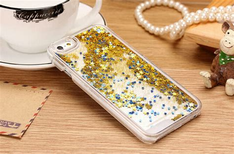 Hardcase Glitter Iphone 77 glitter dynamic liquid cover for iphone 4 4s 5 5s 6 back cover