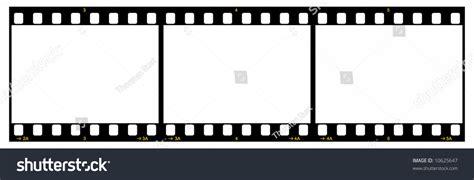 Credit Reel Format 35mm Frames Frame 1 Credit Instant Photo Frames And Stock Vector 8447537