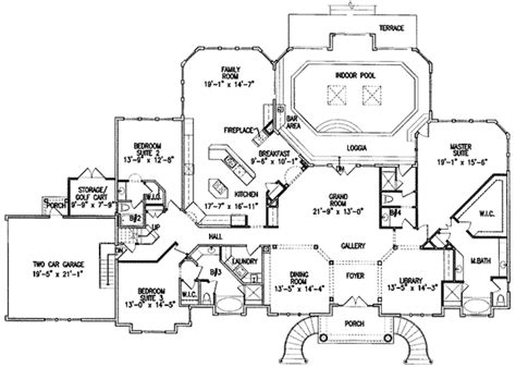 pool houses floor plans mansion floor plans with pool and home plan with indoor pool houses plans designs