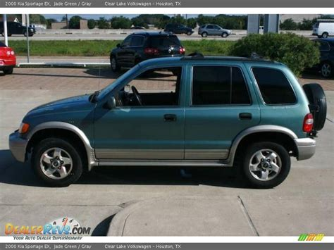 2000 kia sportage ex 2000 kia sportage ex jade green gray photo 11