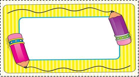 imagenes marcos escolares rayito de colores febrero 2016