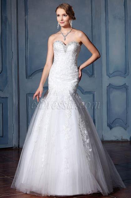9181 Dress Mermaid edressit sweetheart beaded neckline wedding dress f02020025