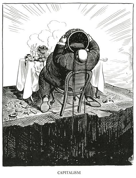 Democratic Design by Cartooning Capitalism