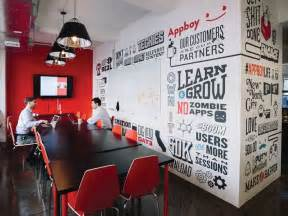 Kitchen Words Phrases Wall 25 best ideas about office mural on pinterest office