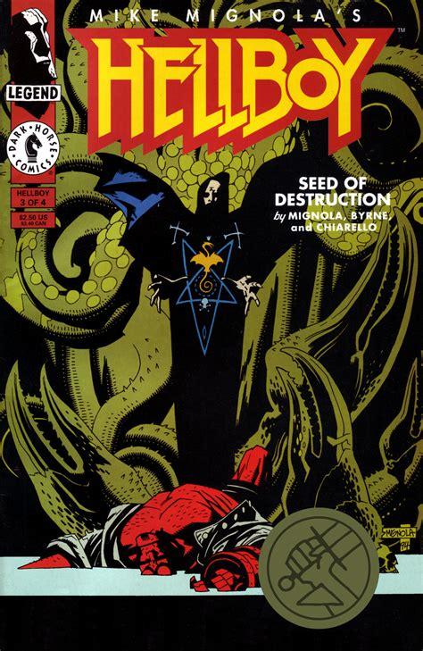 hellboy 1 semilla de hellboy semilla de destrucci 243 n parte 2 unlimited editorial cuarto mundo