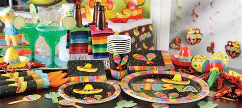 Bar Decoration Ideas Mexikanische Fiesta Party Deko Partycity De