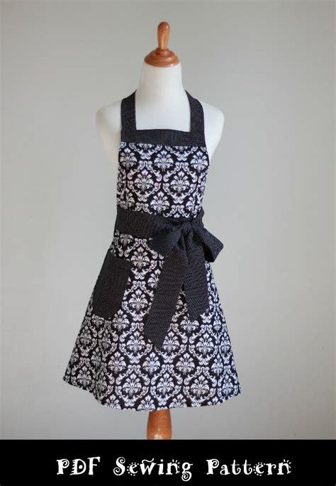 pattern half apron apron pattern pdf women s full and half the flirty girl