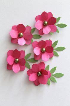 Handmade Paper Flowers For Cards - 25 best ideas about handmade paper flowers on