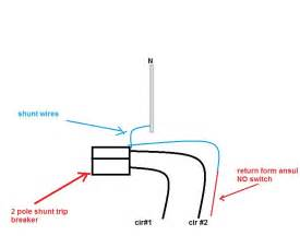 shunt resistor diagram wiring diagram for a shunt trip breaker the knownledge
