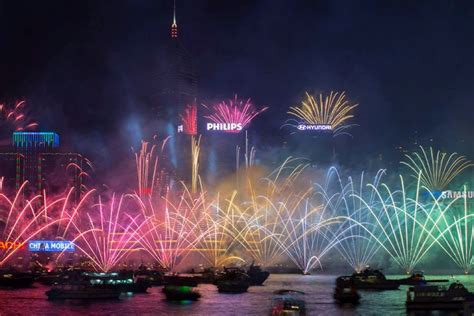 new year hong kong fireworks live hong kong fireworks new years 2016