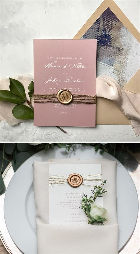 Unique Ways To Seal Wedding Invitations by Diy Wedding Ideas How To Enhance Your Invitations With